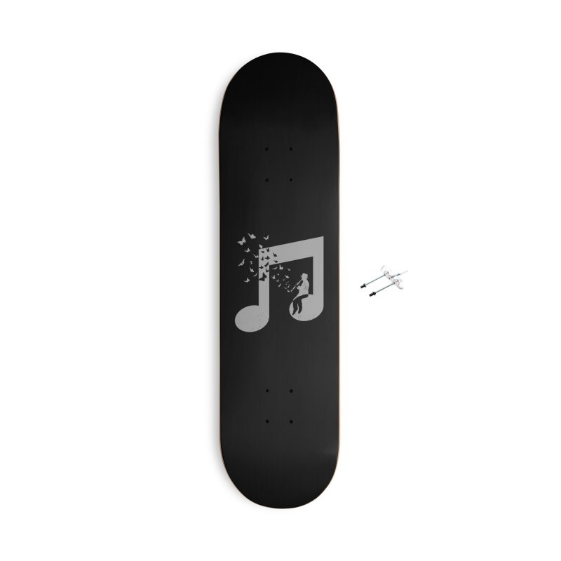 Clarinet Music Accessories With Hanging Hardware Skateboard by barmalisiRTB