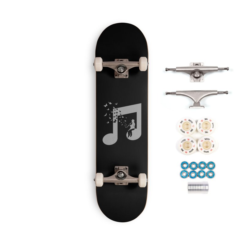 Clarinet Music Accessories Complete - Premium Skateboard by barmalisiRTB