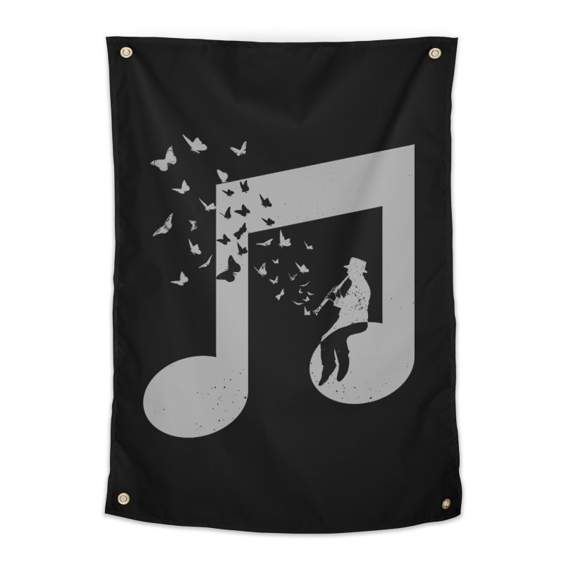 Clarinet Music Home Tapestry by barmalisiRTB