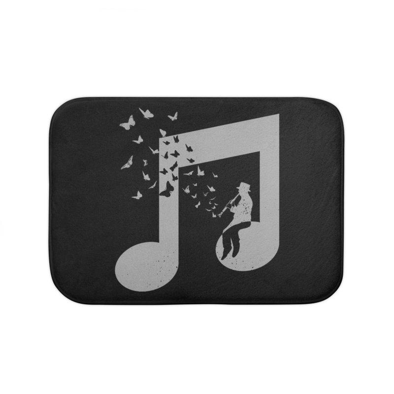 Clarinet Music Home Bath Mat by barmalisiRTB