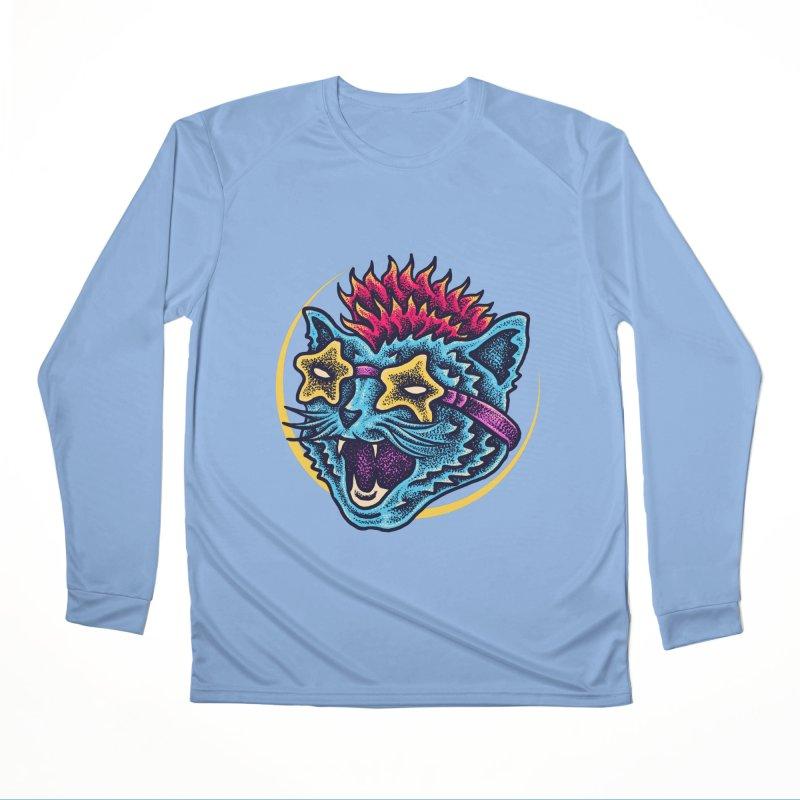 Funky Cat style Men's Longsleeve T-Shirt by barmalisiRTB