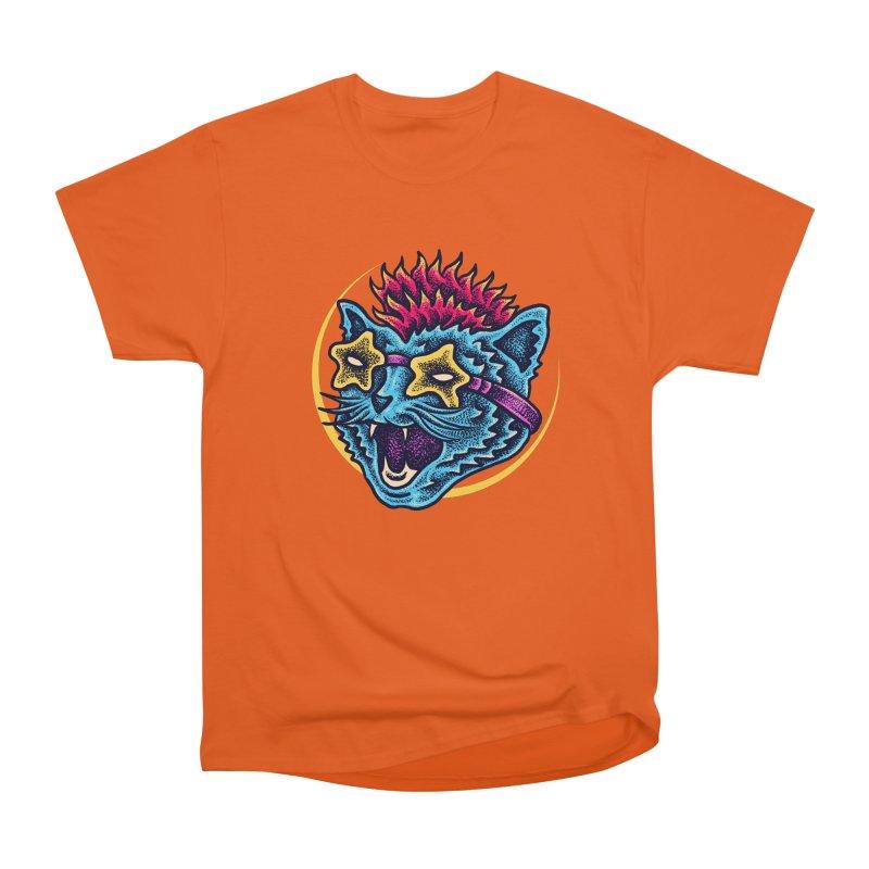 Funky Cat style Women's T-Shirt by barmalisiRTB