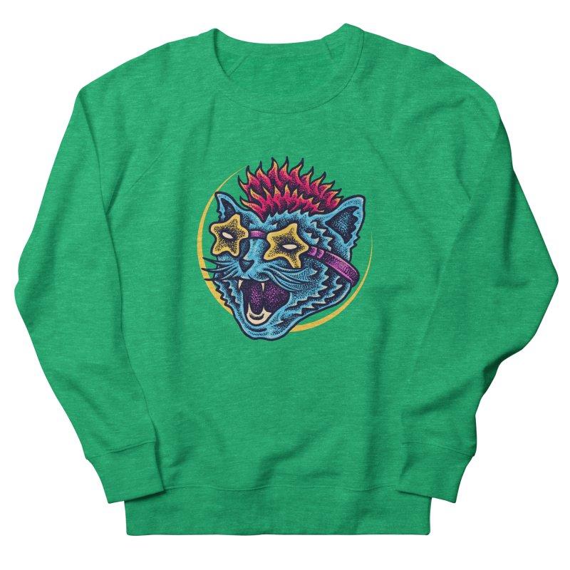 Funky Cat style Women's Sweatshirt by barmalisiRTB