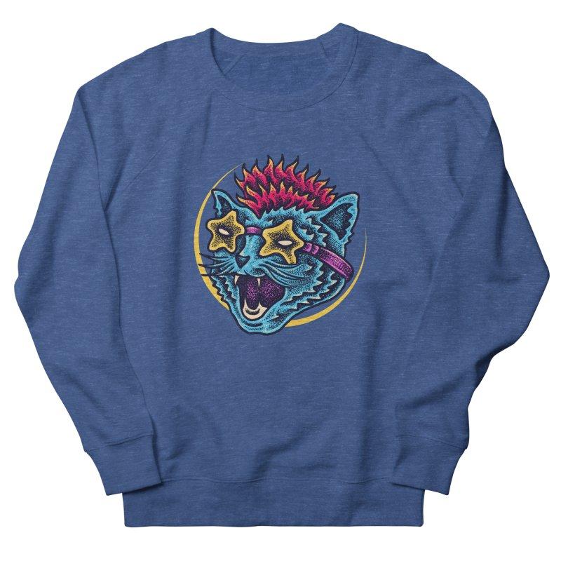 Funky Cat style Men's Sweatshirt by barmalisiRTB