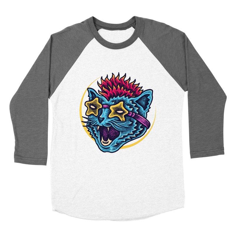 Funky Cat style Women's Longsleeve T-Shirt by barmalisiRTB