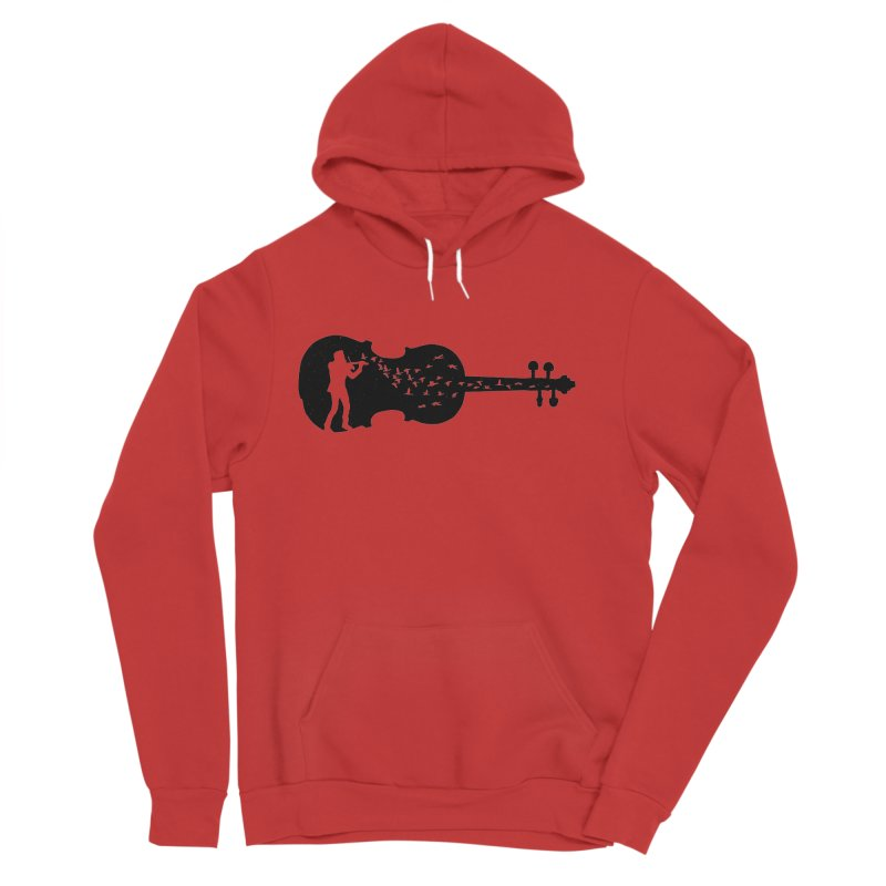 Violinist Women's Pullover Hoody by barmalisiRTB