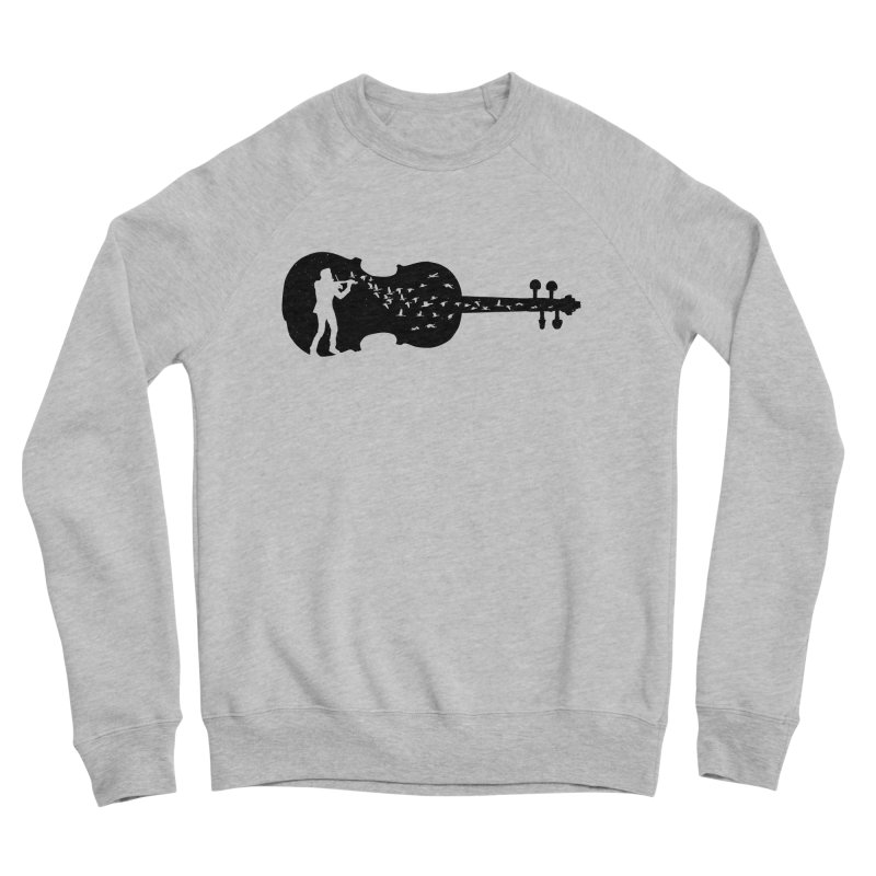 Violinist Women's Sponge Fleece Sweatshirt by barmalisiRTB