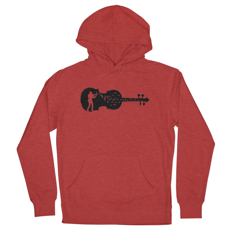 Violinist Women's French Terry Pullover Hoody by barmalisiRTB