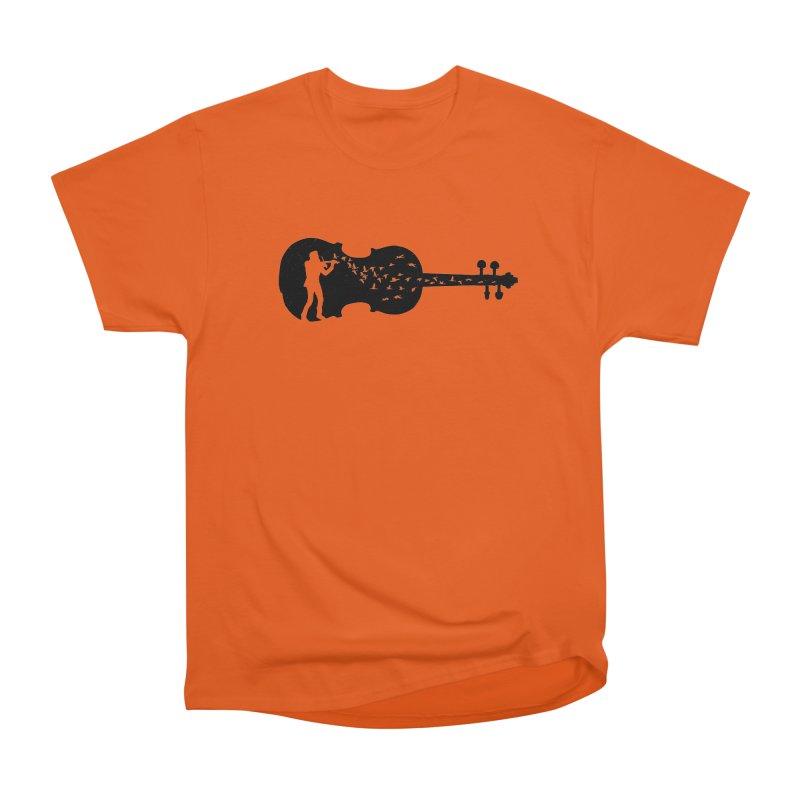 Violinist Men's T-Shirt by barmalisiRTB