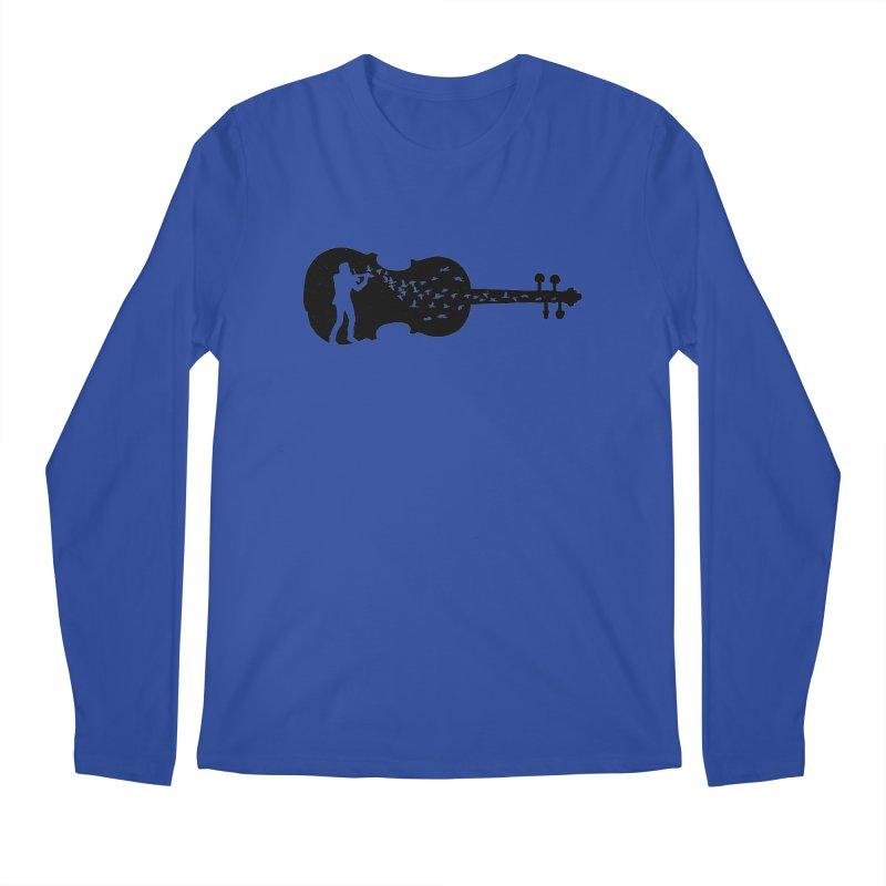 Violinist Men's Regular Longsleeve T-Shirt by barmalisiRTB