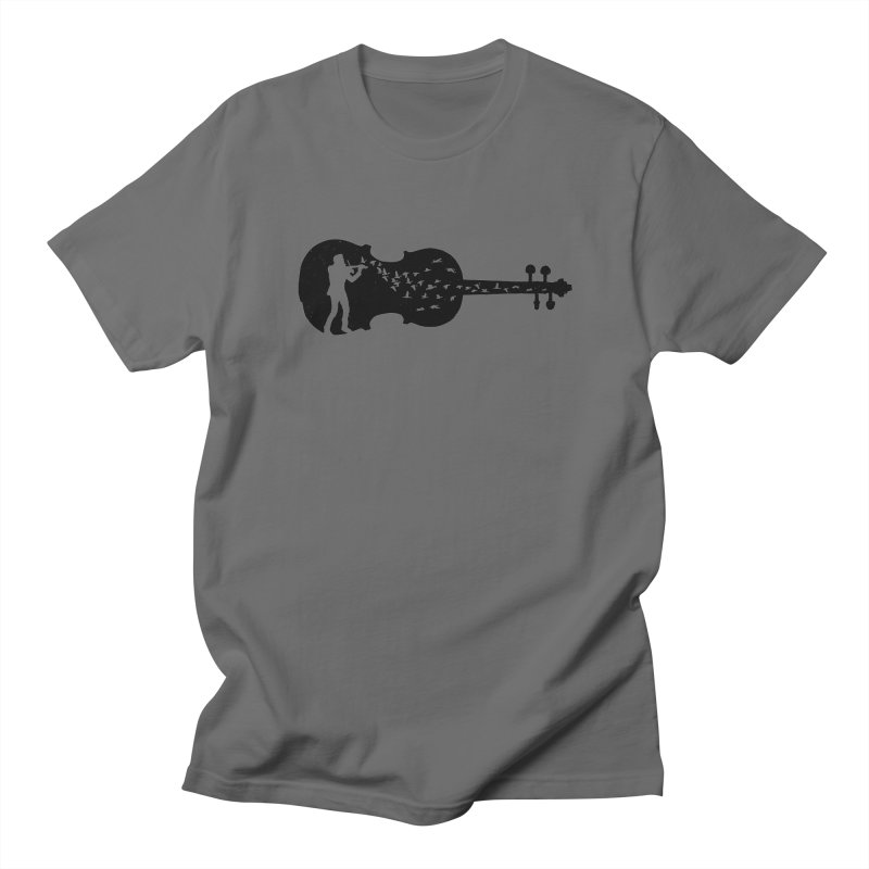 Violinist Men's Regular T-Shirt by barmalisiRTB