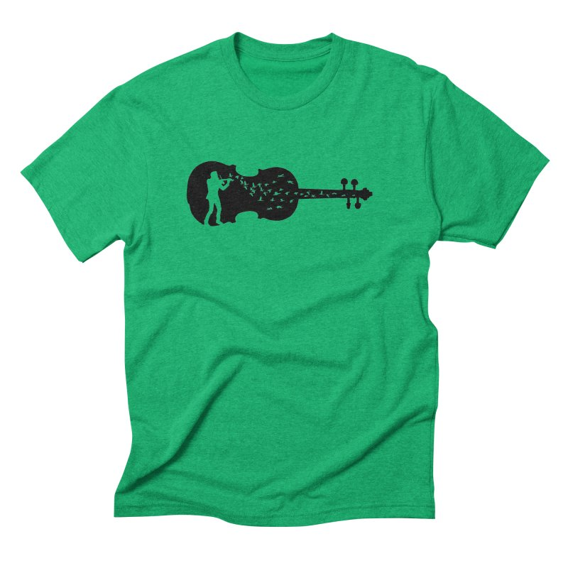 Violinist Men's Triblend T-Shirt by barmalisiRTB