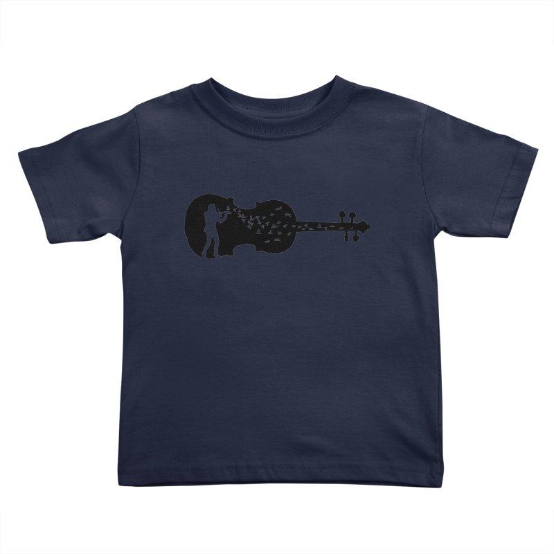Violinist Kids Toddler T-Shirt by barmalisiRTB