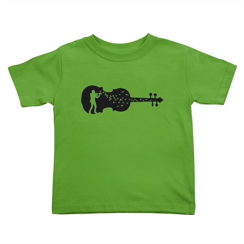 Violinist Kids Toddler T-Shirt by barmalisiRTB