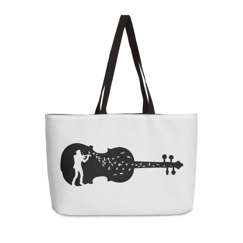 Violinist Accessories Weekender Bag Bag by barmalisiRTB