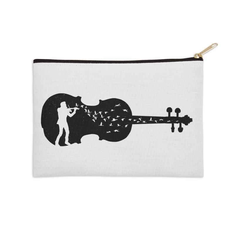 Violinist Accessories Zip Pouch by barmalisiRTB