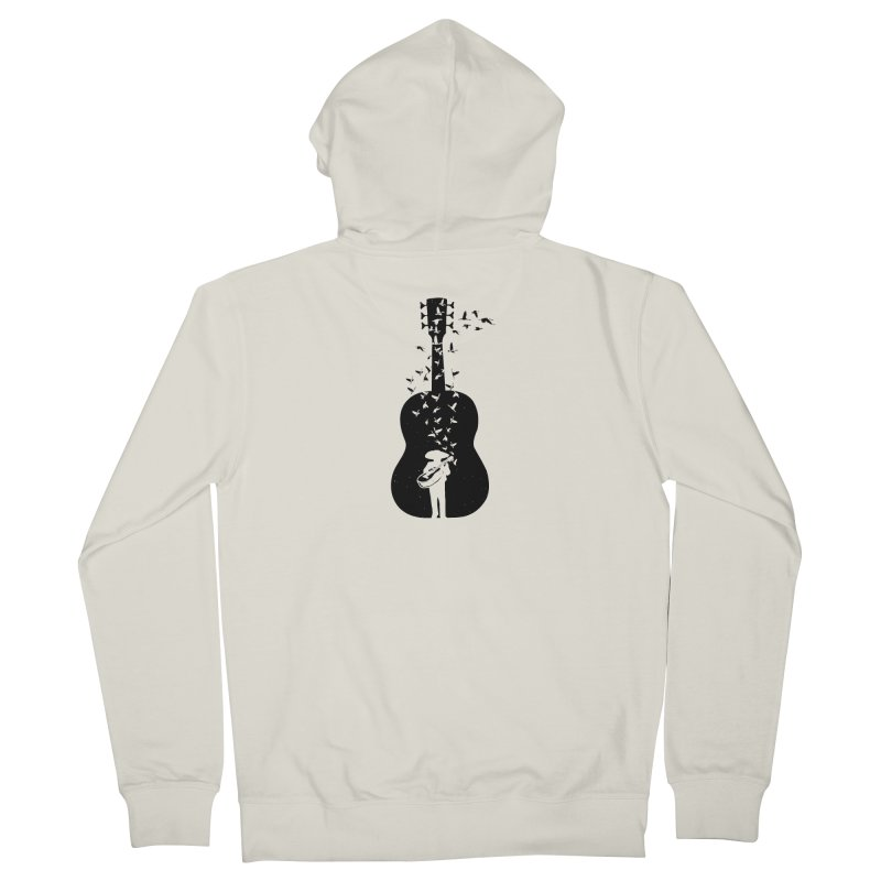 Mexican Mariachi Men's French Terry Zip-Up Hoody by barmalisiRTB