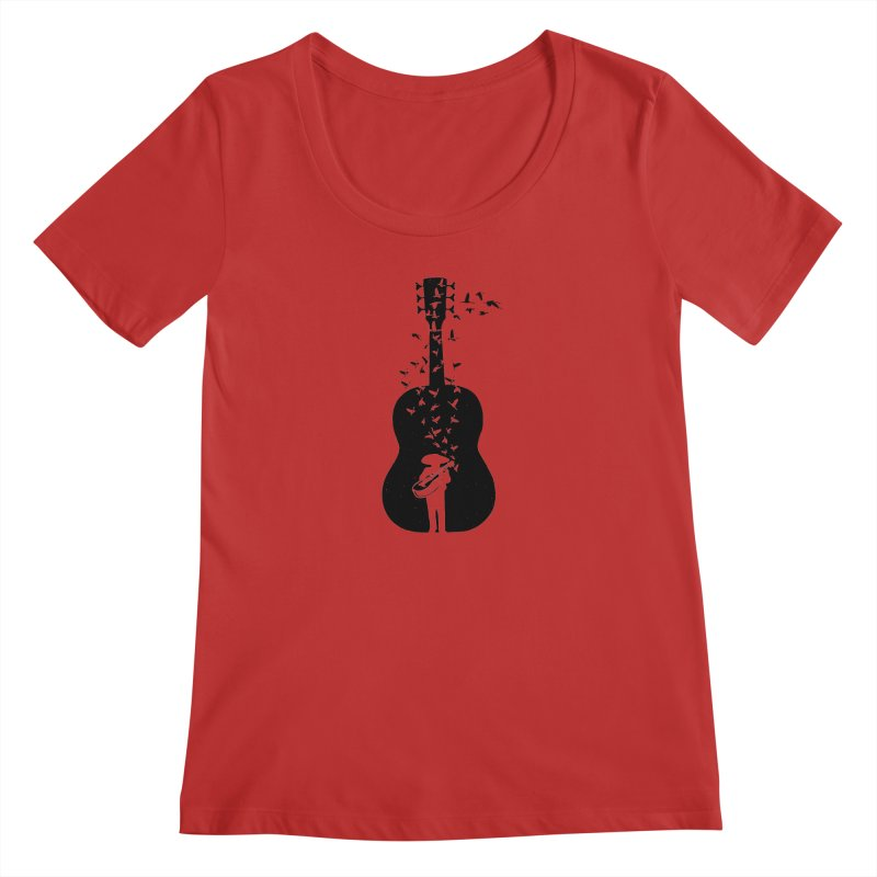 Mexican Mariachi Women's Regular Scoop Neck by barmalisiRTB