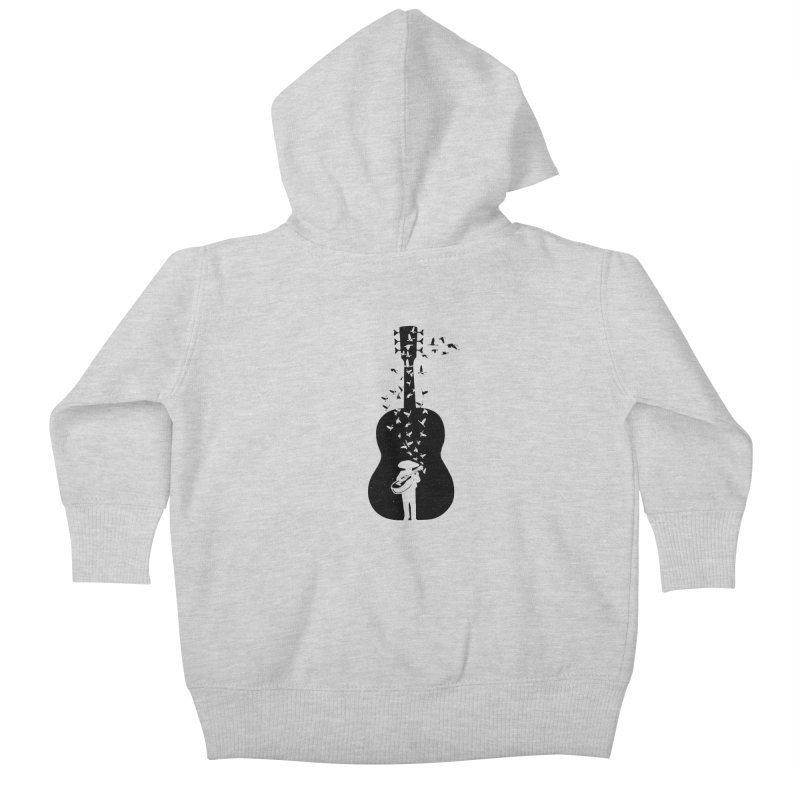 Mexican Mariachi Kids Baby Zip-Up Hoody by barmalisiRTB