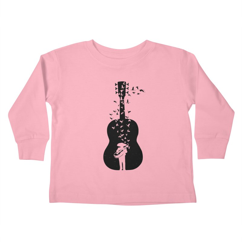 Mexican Mariachi Kids Toddler Longsleeve T-Shirt by barmalisiRTB