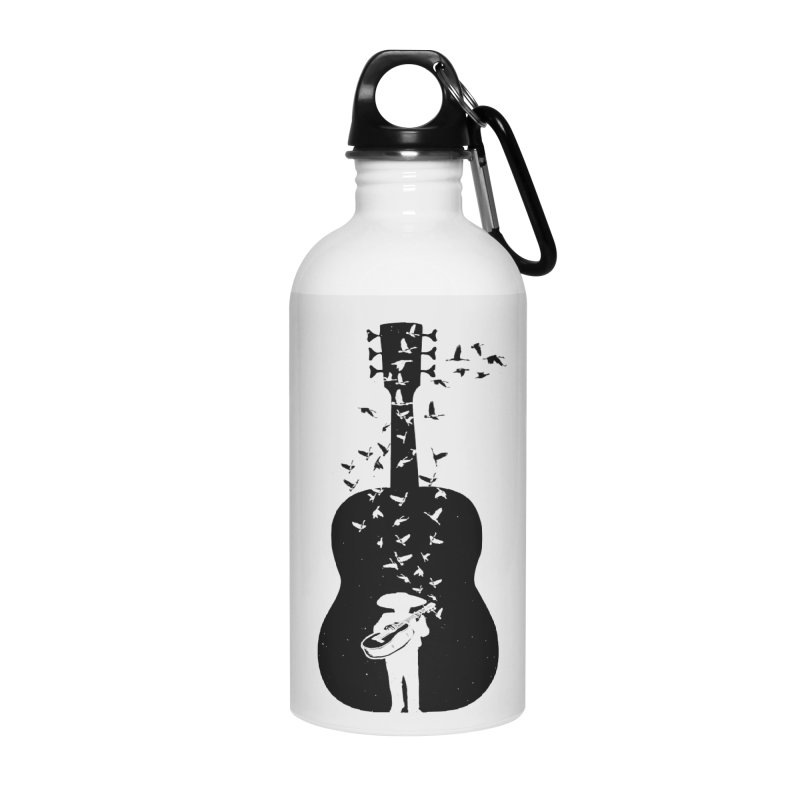 Mexican Mariachi Accessories Water Bottle by barmalisiRTB
