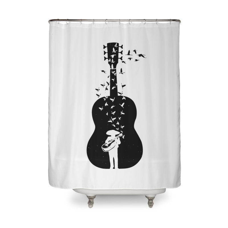 Mexican Mariachi Home Shower Curtain by barmalisiRTB