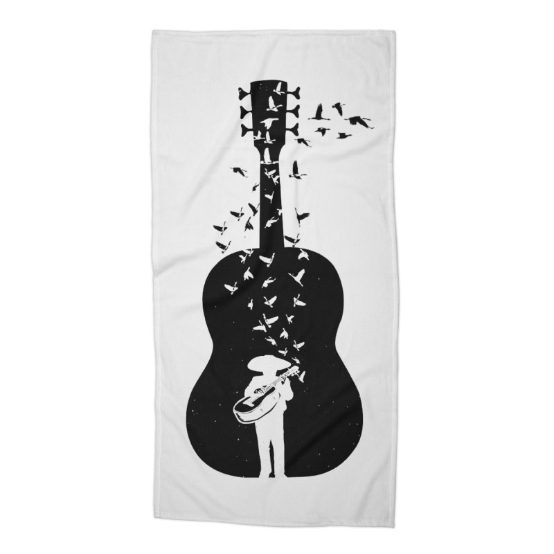 Mexican Mariachi Accessories Beach Towel by barmalisiRTB
