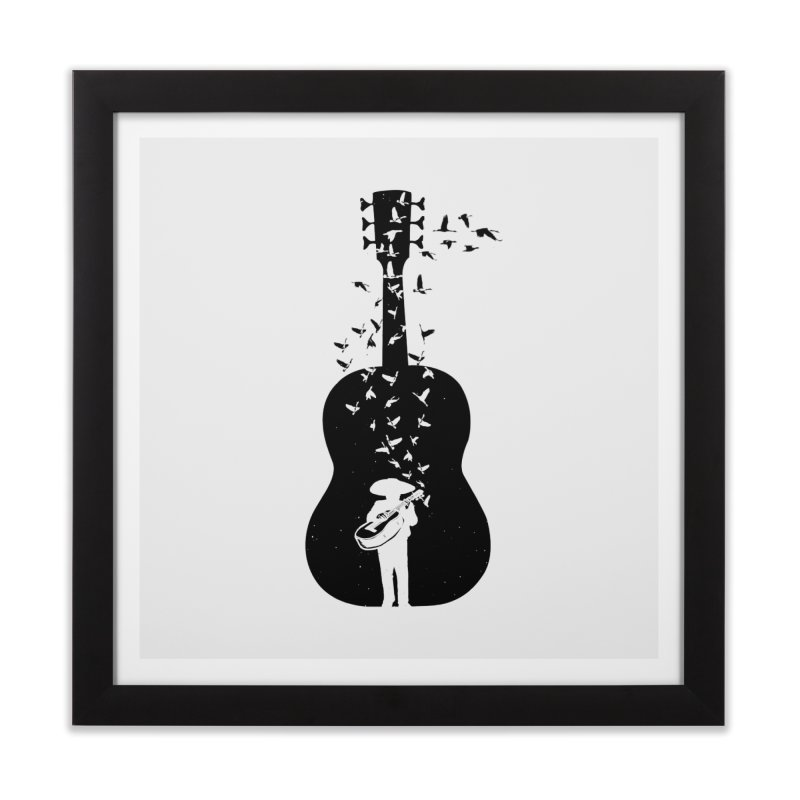 Mexican Mariachi Home Framed Fine Art Print by barmalisiRTB