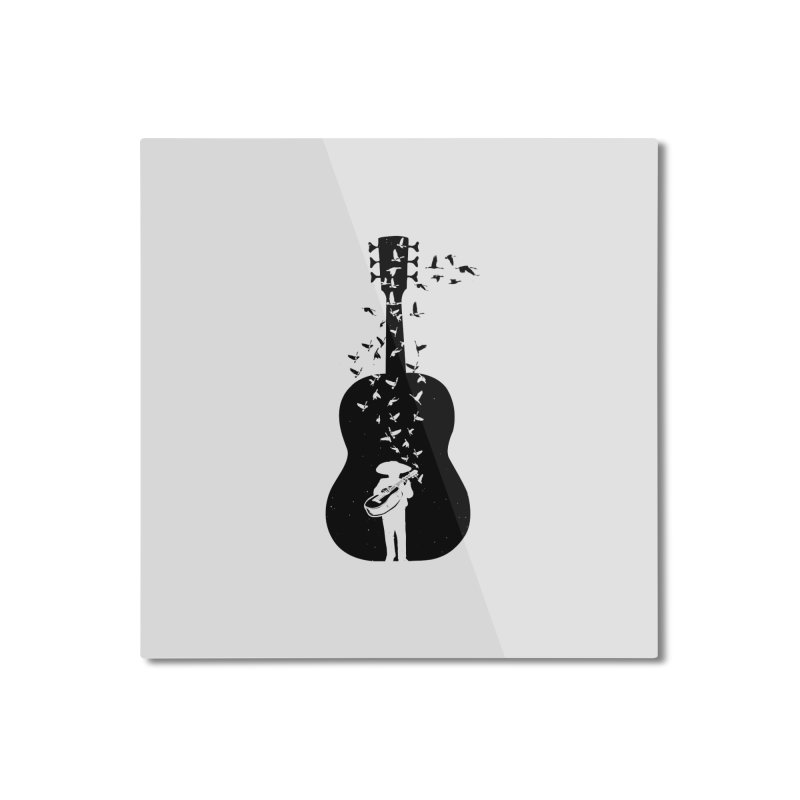 Mexican Mariachi Home Mounted Aluminum Print by barmalisiRTB