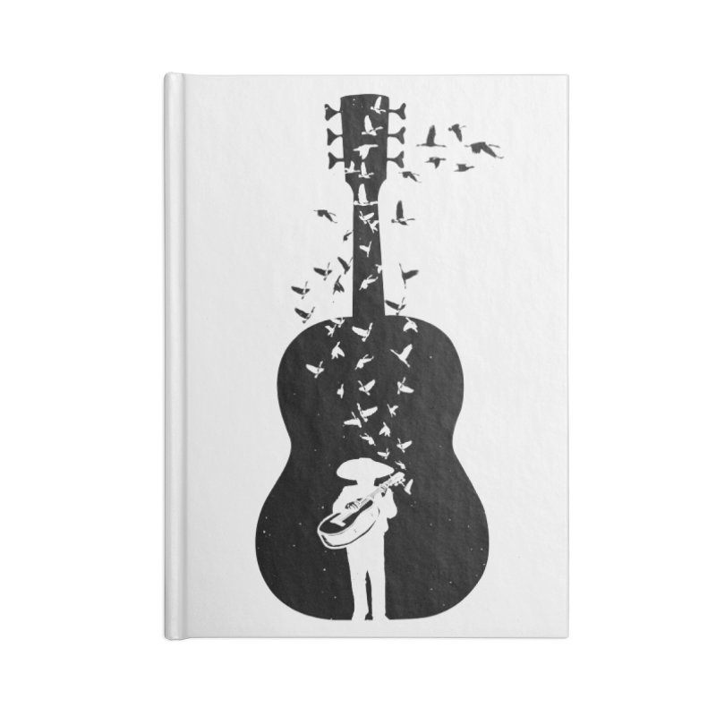 Mexican Mariachi Accessories Blank Journal Notebook by barmalisiRTB