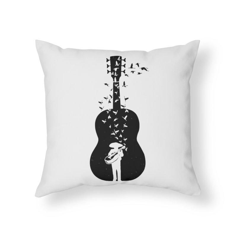 Mexican Mariachi Home Throw Pillow by barmalisiRTB