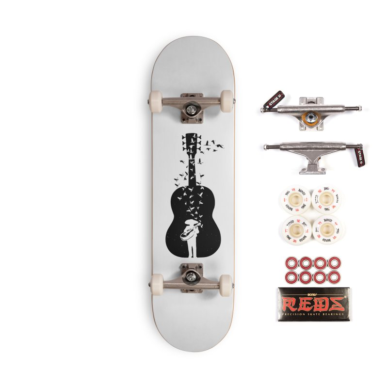 Mexican Mariachi Accessories Complete - Pro Skateboard by barmalisiRTB
