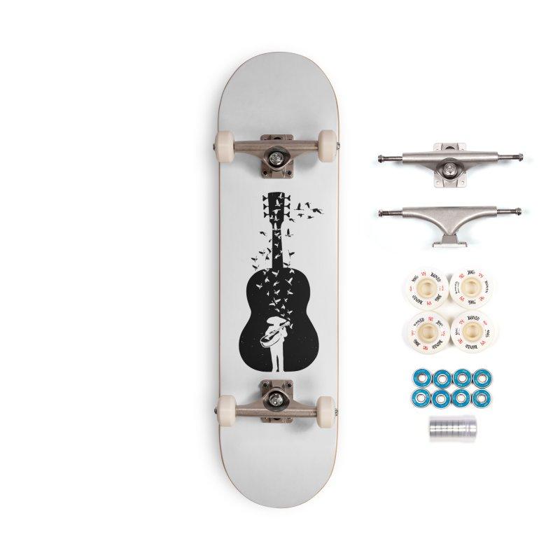 Mexican Mariachi Accessories Skateboard by barmalisiRTB