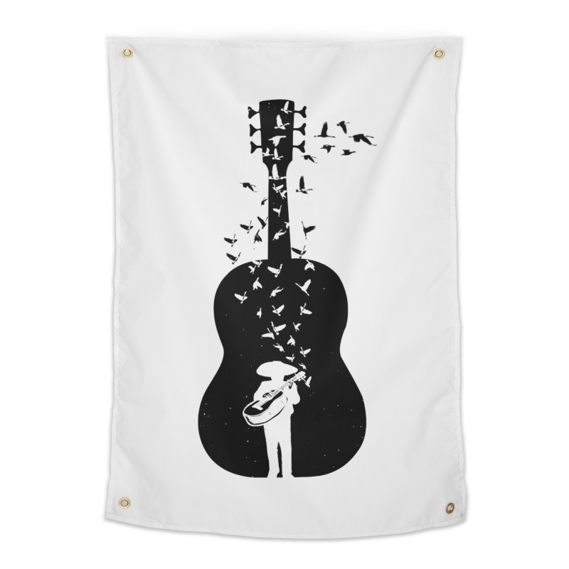Mexican Mariachi Home Tapestry by barmalisiRTB