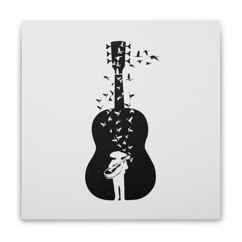 Mexican Mariachi Home Stretched Canvas by barmalisiRTB