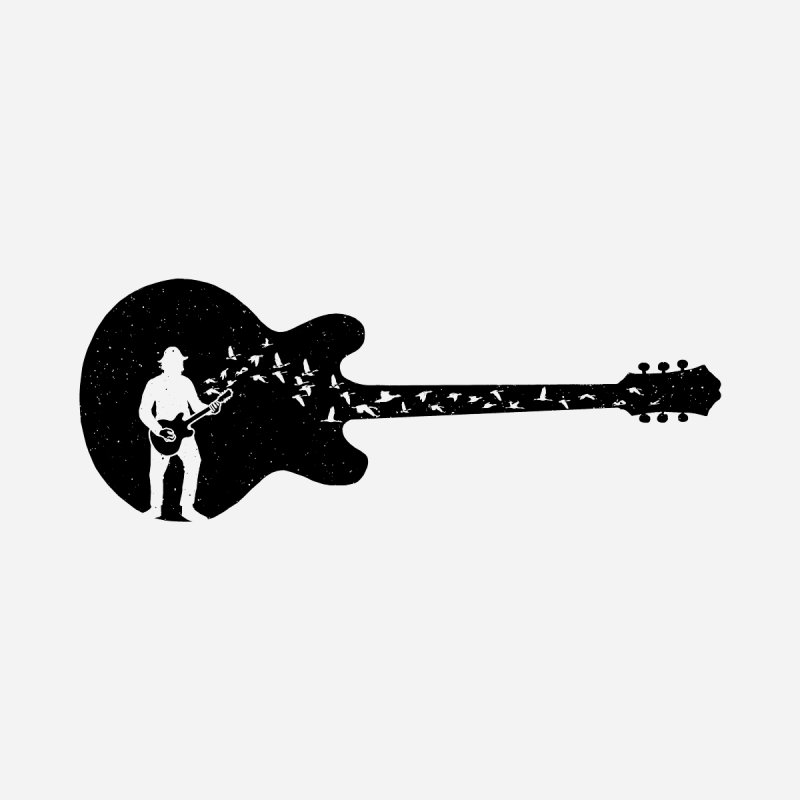 guitar guitarist Women's T-Shirt by barmalisiRTB