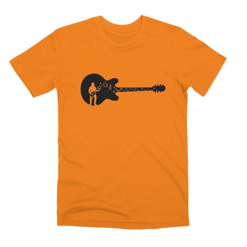 guitar guitarist Men's T-Shirt by barmalisiRTB