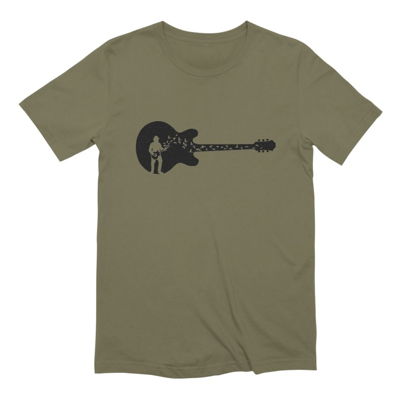 guitar guitarist Men's Extra Soft T-Shirt by barmalisiRTB