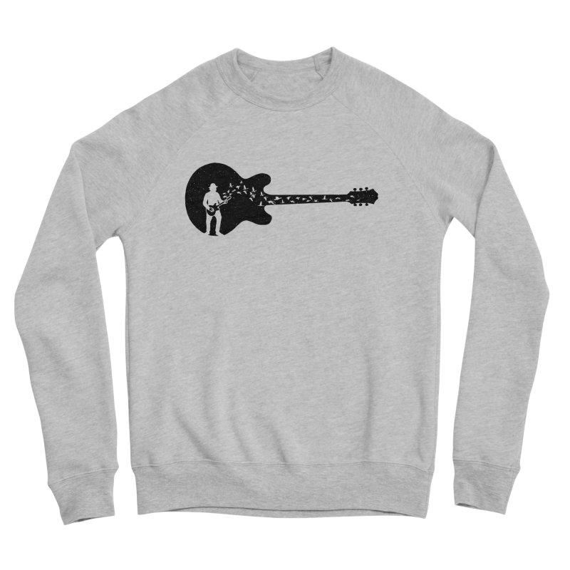guitar guitarist Women's Sponge Fleece Sweatshirt by barmalisiRTB