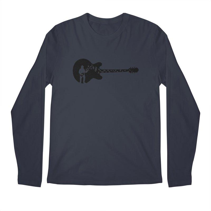 guitar guitarist Men's Regular Longsleeve T-Shirt by barmalisiRTB