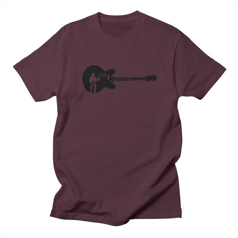 guitar guitarist Men's Regular T-Shirt by barmalisiRTB
