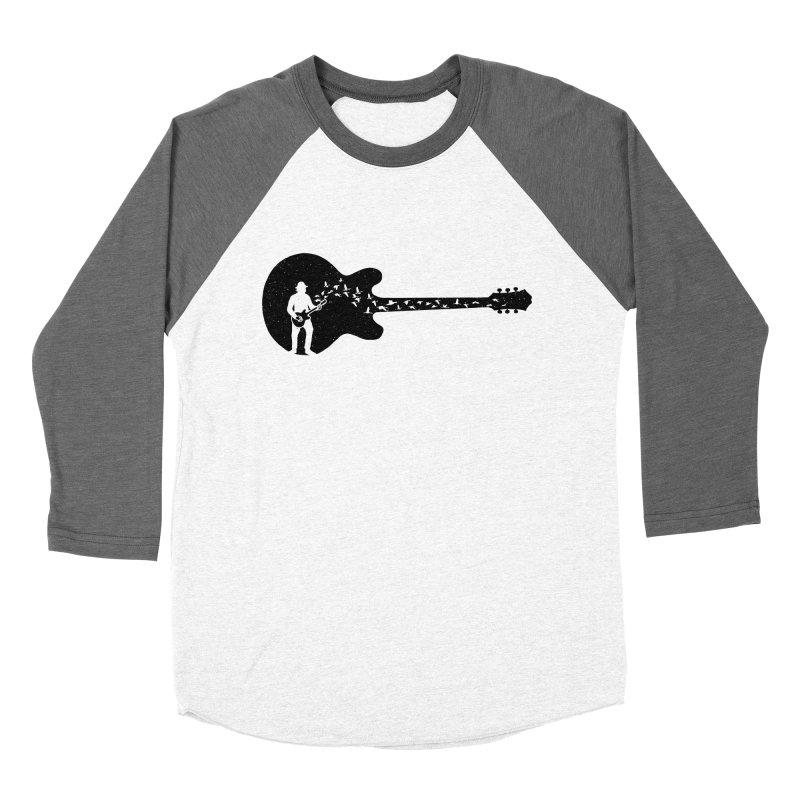 guitar guitarist Women's Longsleeve T-Shirt by barmalisiRTB