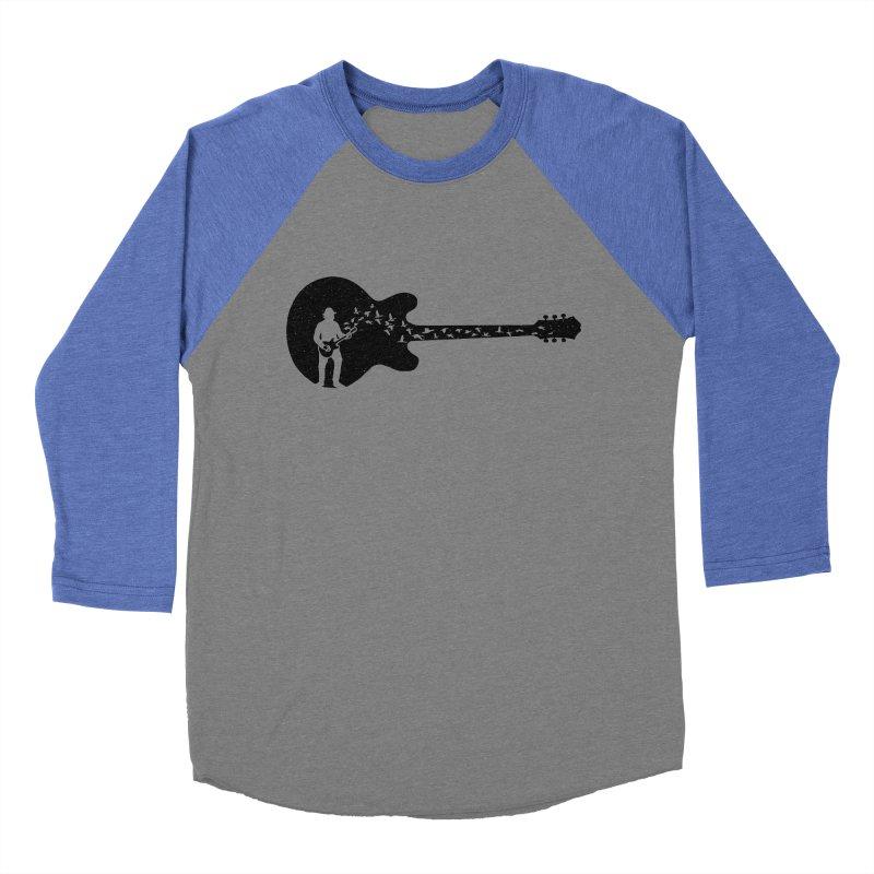 guitar guitarist Women's Baseball Triblend Longsleeve T-Shirt by barmalisiRTB