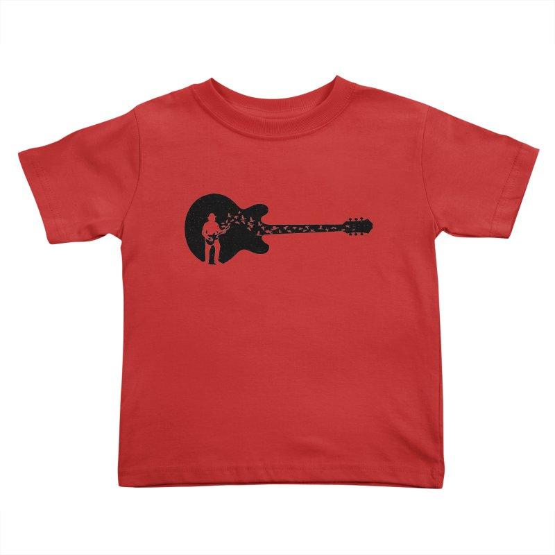 guitar guitarist Kids Toddler T-Shirt by barmalisiRTB