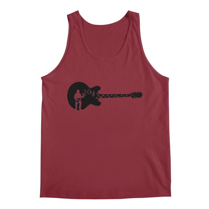 guitar guitarist Men's Regular Tank by barmalisiRTB