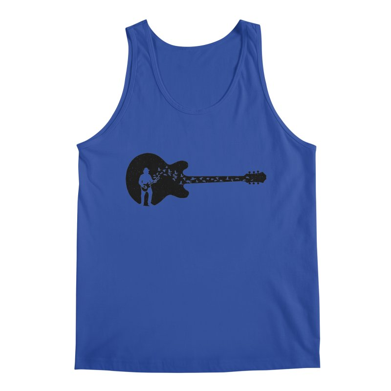 guitar guitarist Men's Regular Tank by barmalisiRTB