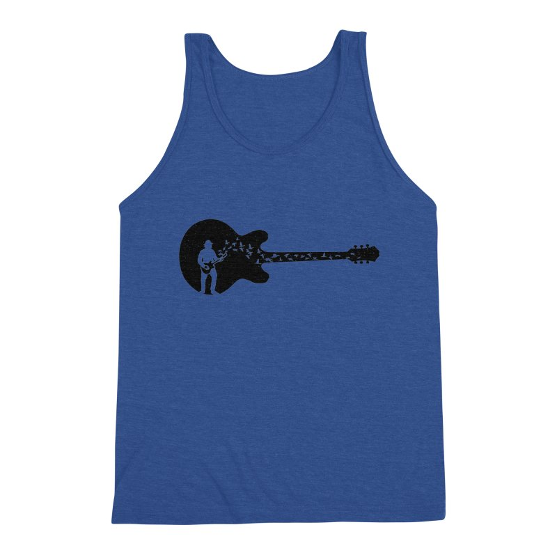 guitar guitarist Men's Tank by barmalisiRTB
