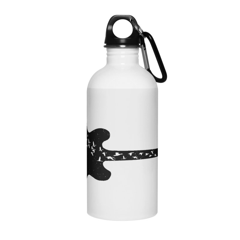 guitar guitarist Accessories Water Bottle by barmalisiRTB