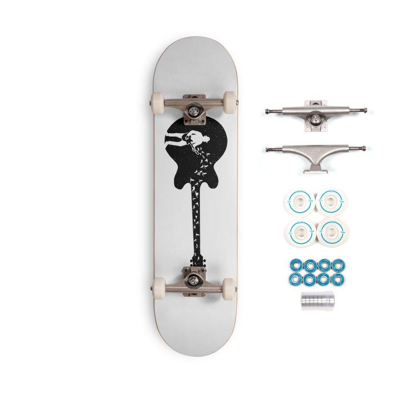 guitar guitarist Accessories Complete - Basic Skateboard by barmalisiRTB