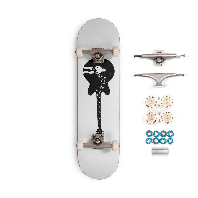 guitar guitarist Accessories Skateboard by barmalisiRTB
